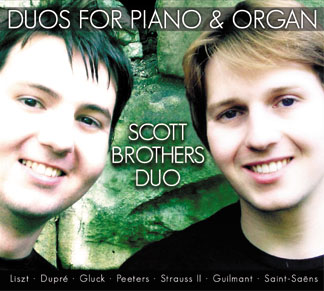 DUOS FOR PIANO & ORGAN
