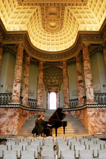 Holkham Hall Concrt Piano Duet