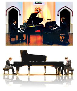 Scott Brothers Duo - Piano and Harmonium & Two Piano Duo